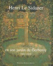 Henri Le Sidaner - Couverture - Format classique