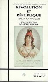 Révolution et république - Couverture - Format classique