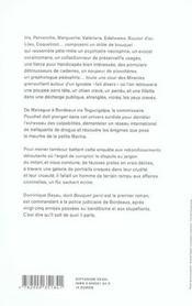 Bouquet Garni - 4ème de couverture - Format classique