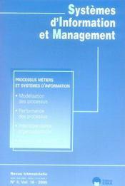 Systèmes d'information et management - Intérieur - Format classique