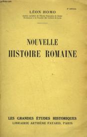 Nouvelle Histoire Romaine. - Couverture - Format classique