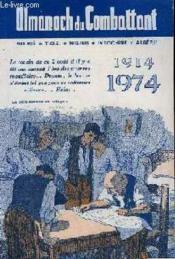 Almanach Du Combattant 1974 - Couverture - Format classique
