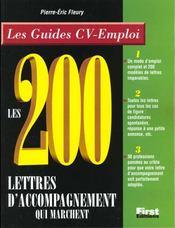 200 Lettres D'Accompagnement Qui Marchent - Intérieur - Format classique