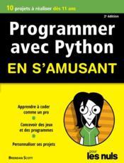 Programmer en s'amusant avec Python ; mégapoche pour les nuls (3e édition) - Couverture - Format classique
