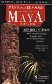 Aventures De Voyage Pays Maya T1 - Couverture - Format classique