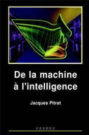 De la machine a l'intelligence - Couverture - Format classique