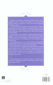 Mutualisme bancaire - 4ème de couverture - Format classique