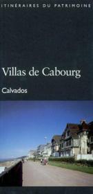 Villas de cabourg - Couverture - Format classique
