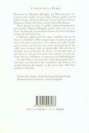 La Ballade De Lucy Whipple - 4ème de couverture - Format classique