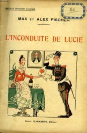L'Inconduite De Lucie. Collection : Nouvelle Collection Illustree N° 23 - Couverture - Format classique
