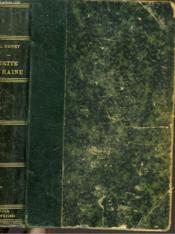 Les Batailles De La Vie. Dette De Haine. - Couverture - Format classique