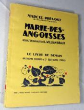 Marie-des-Angoisses. - Couverture - Format classique