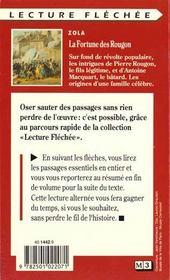 La Fortune Des Rougon - 4ème de couverture - Format classique
