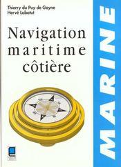 Navigation maritime cotiere - Intérieur - Format classique
