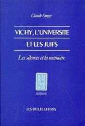 Vichy, l'universite et les juifs - Couverture - Format classique