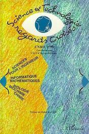 Cnriut '99 ; Science Et Technologie, Regards Croises - Intérieur - Format classique
