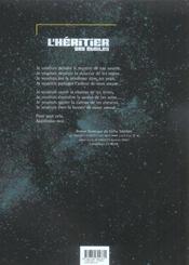 L'héritier des étoiles t.1 ; apprivoise-moi - 4ème de couverture - Format classique