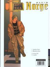 Alvin Norge t.2 ; morphing amer - 4ème de couverture - Format classique