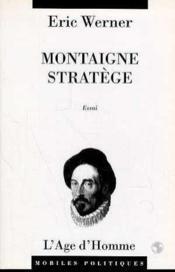 Montaigne Stratege - Couverture - Format classique