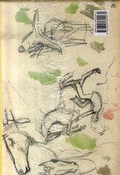 Carnets de croquis ; 3 volume sous coffret - 4ème de couverture - Format classique