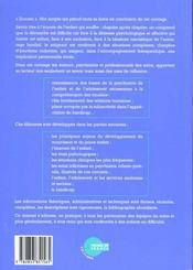 Psychiatrie de l'enfant et de l'adolescent t.1 - 4ème de couverture - Format classique