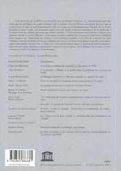Revue Internationale Des Sciences Dociales N .161 Politiques De Sante Et Valeurs Sociales - 4ème de couverture - Format classique