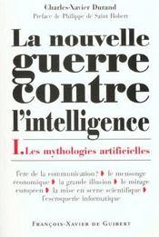 La nouvelle guerre contre l'intelligence, tome 1 - Intérieur - Format classique