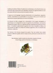Bordeaux en mouvement - 4ème de couverture - Format classique