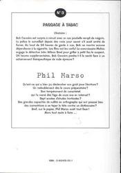 Passage a tabac ; 3e edition - 4ème de couverture - Format classique