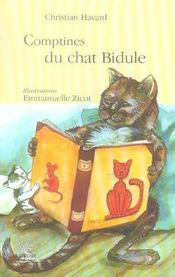 Comptines du chat Bidule - Intérieur - Format classique