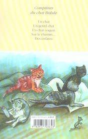 Comptines du chat Bidule - 4ème de couverture - Format classique