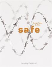Safe - design takes on risk - Couverture - Format classique