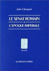 Senat romain a l'epoque imperiale (le) - Couverture - Format classique