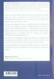 Electromagnetisme Fiches Methodes Et Exercices Corriges 2e Annee Mp - 4ème de couverture - Format classique