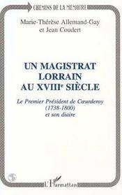 Un magistrat lorrain au XVIII siècle - Intérieur - Format classique