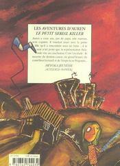 Les aventures d'auren, le petit serial killer - 4ème de couverture - Format classique