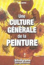 Culture generale de la peinture (une) - Intérieur - Format classique