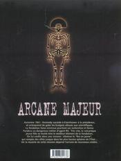 Arcane majeur t.2 ; le roi en jaune - 4ème de couverture - Format classique