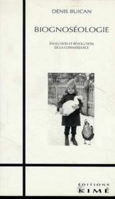Biognoséologie - Couverture - Format classique