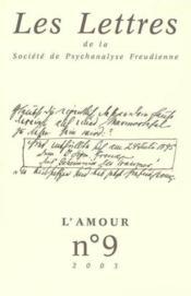 Revue Les Lettres De La Spf N 9 2003 - L'Amour - Couverture - Format classique
