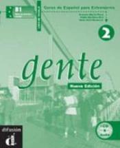 Gente 2 Nueva Edicion Libro Del Trabajo + Cd - Couverture - Format classique