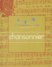 Chansonnier - Couverture - Format classique