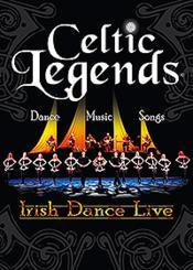 Celtic Legends - Irish Dance Live - Couverture - Format classique