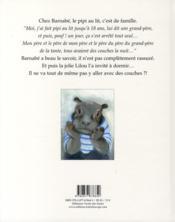 Le pipi de Barnabé - 4ème de couverture - Format classique