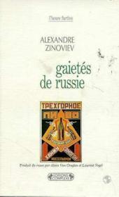 Gaietes de russie - Couverture - Format classique
