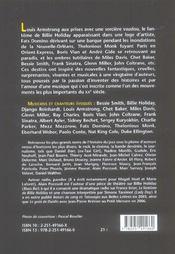 Fantomes du jazz - 4ème de couverture - Format classique