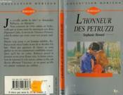L'Honneur Des Petruzzi - A Roman Marriage - Couverture - Format classique