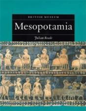 Mesopotamia /Anglais - Couverture - Format classique