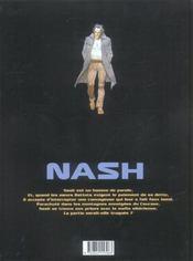Nash t.4 ; la fraternité blanche - 4ème de couverture - Format classique