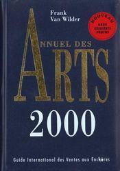 Annuel des arts 2000 - Intérieur - Format classique